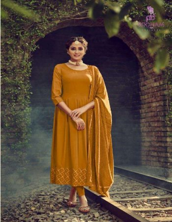 methi yellow rayon fabric embroidery  work wedding