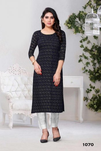 black rayon fabric printed work casual