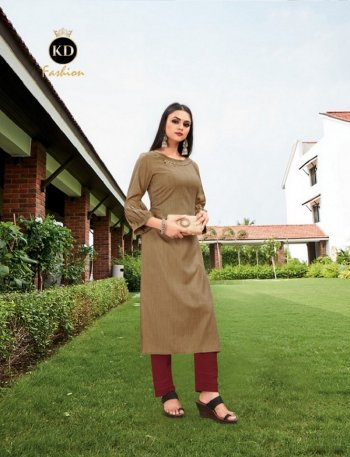 brown cotton fabric handwork work casual