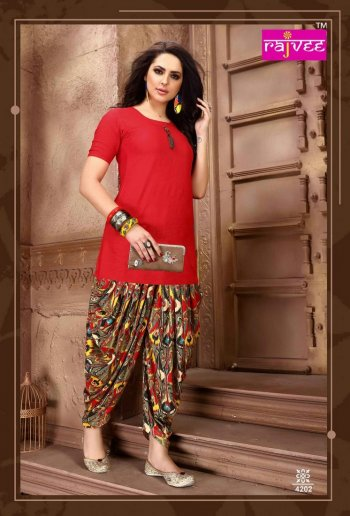 red rayon  fabric plain work casual