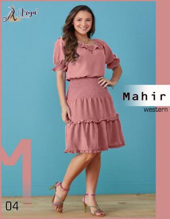 light marron imported chiffon | length 42 fabric plain work wedding