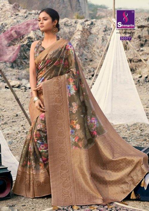 multi soft gicha silk fabric weaving kasab rich pallu work festival
