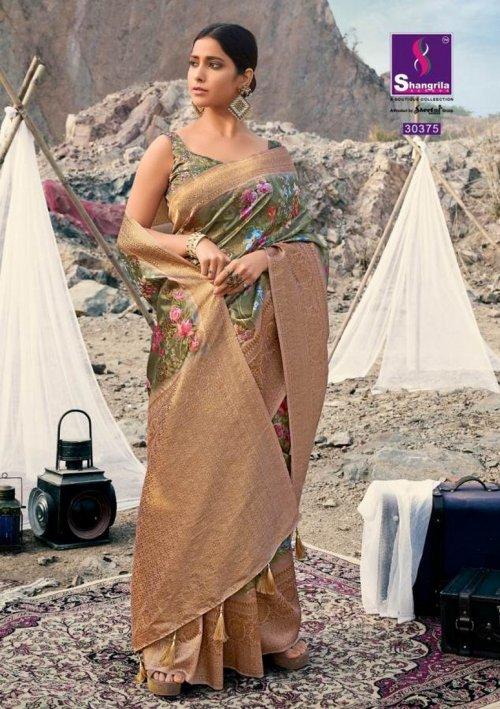 apple green soft gicha silk fabric weaving kasab rich pallu work festival